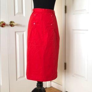 Rare 1950s vintage courreges Paris skirt